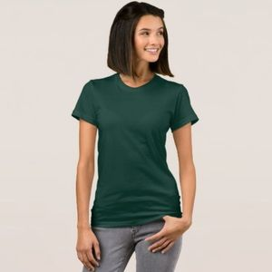 American Apparel Forest Green T-Shirt